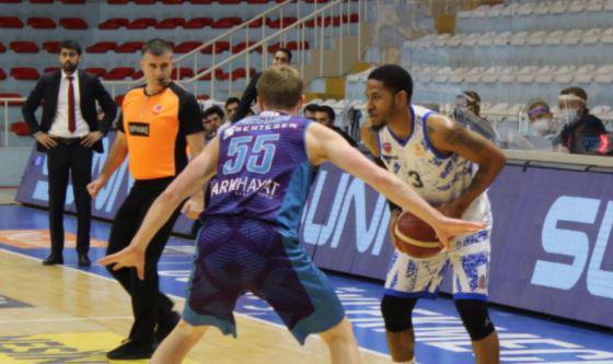 Büyükçekmece Basketbol-Afyon Belediyespor maç sonucu: 95-83
