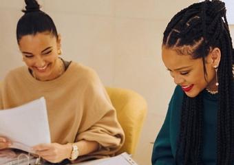 Rihanna, yeni Fenty ayakkabı koleksiyonunu tanıttı